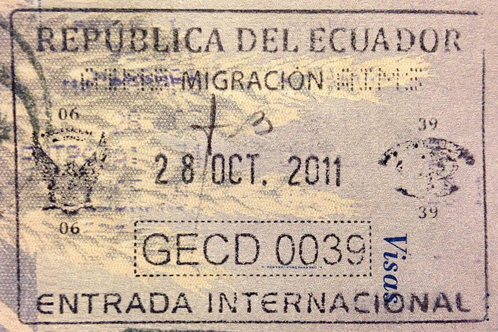 Нужна ли виза в Эквадор?