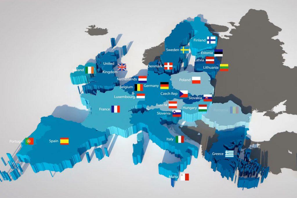 Какие страны входят в Евросоюз в [y] году — список