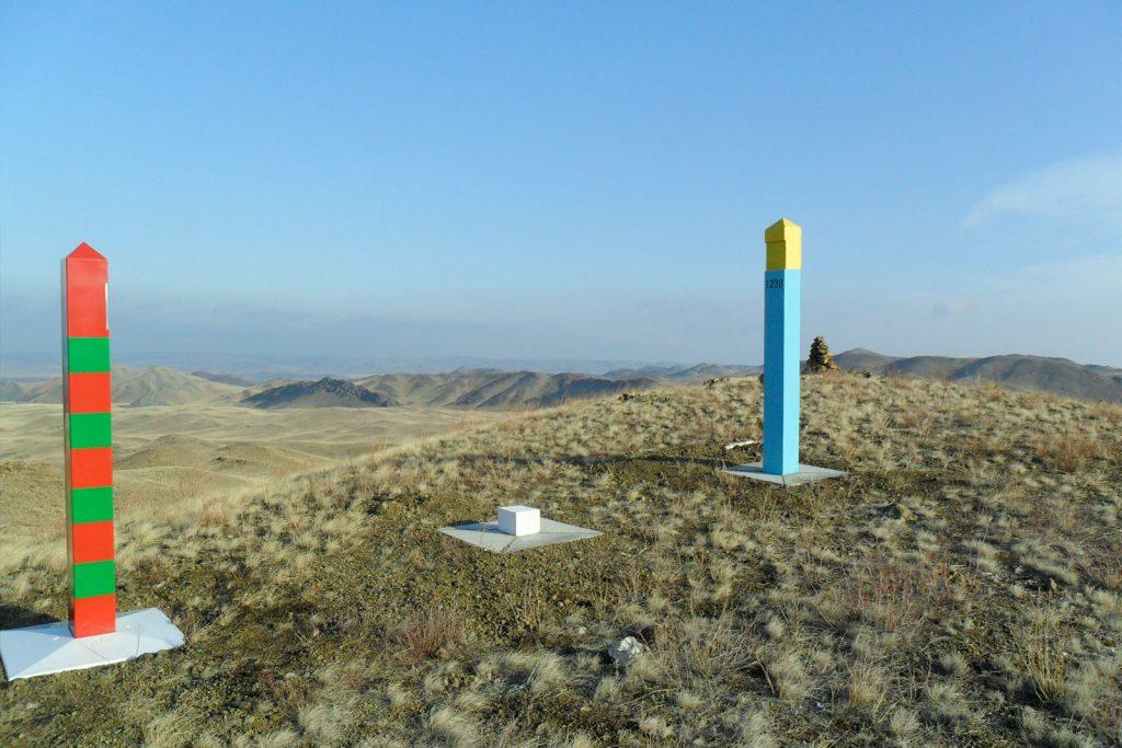 Пересечение границы Россия-Казахстан