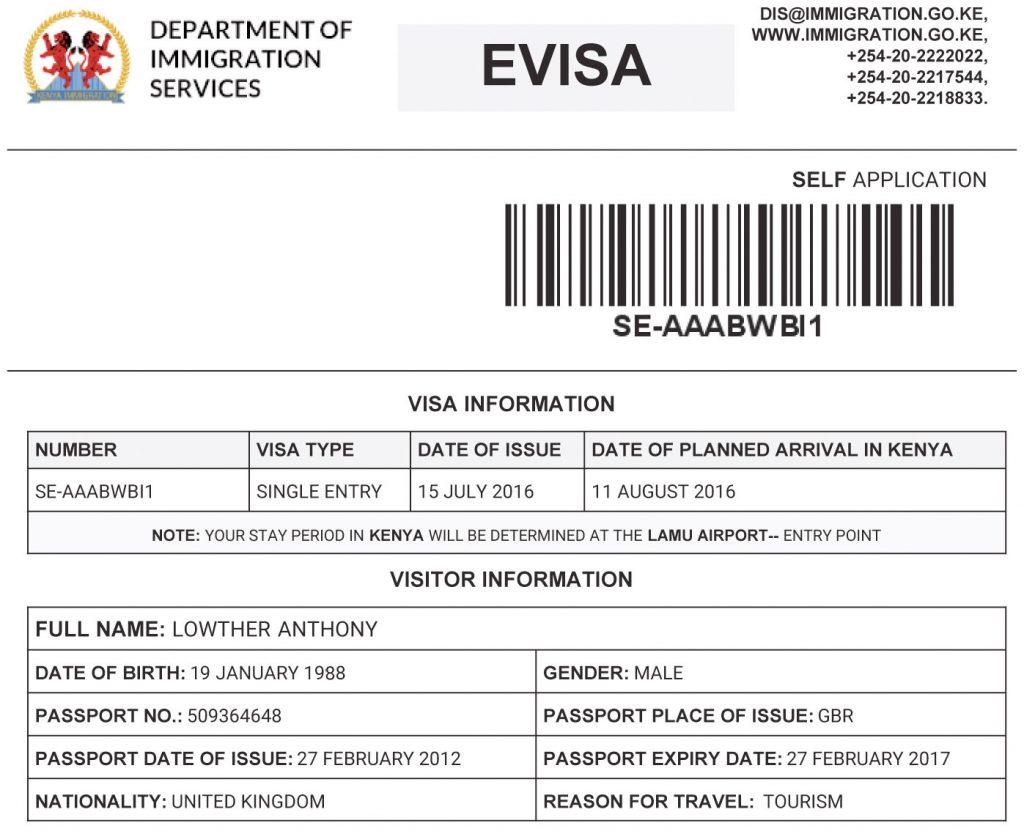 Нужна ли россиянам виза в Кению?
