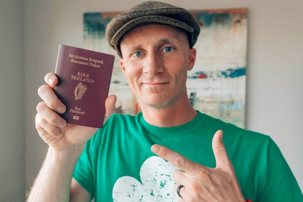 Получение паспорта Ирландии