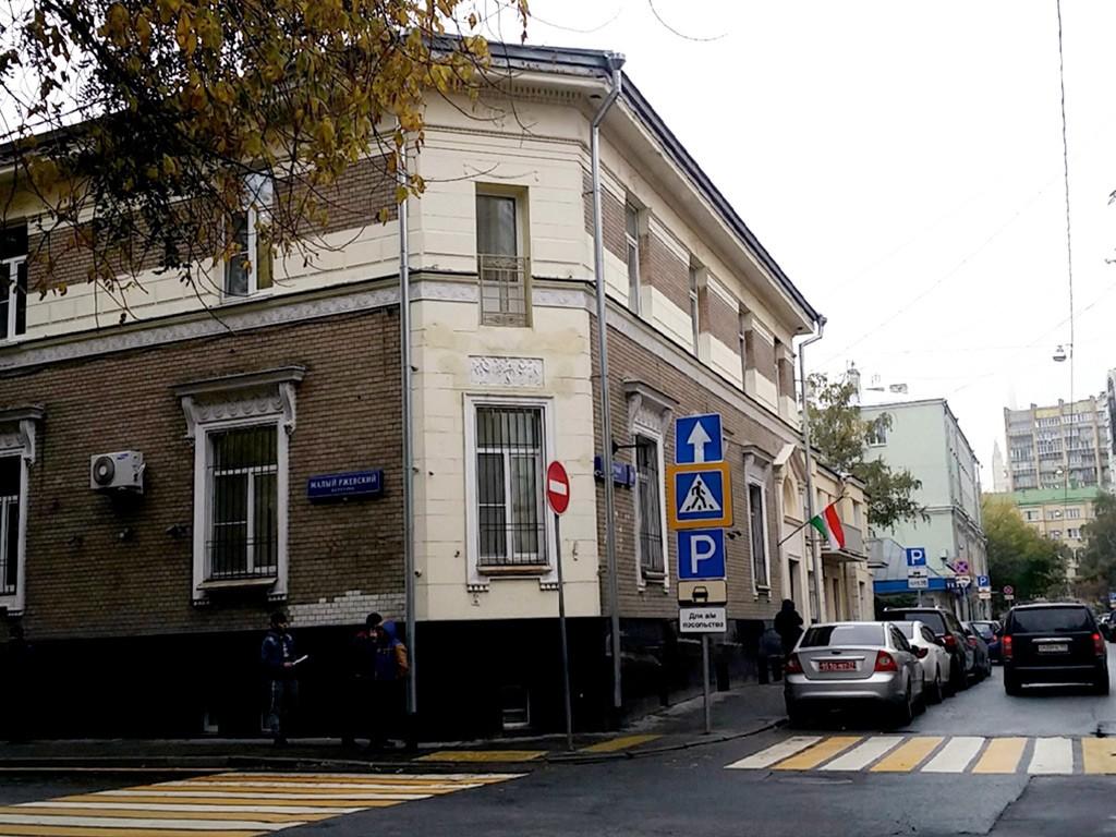 Здание таджикского консульства в Москве