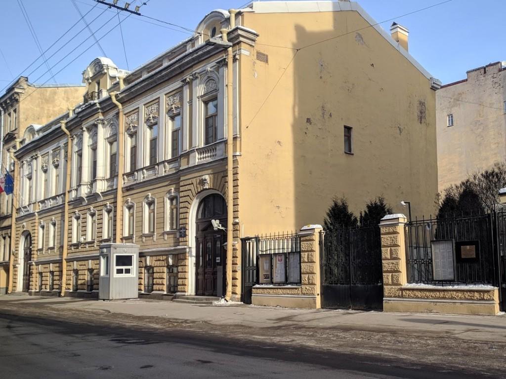 Здание консульства